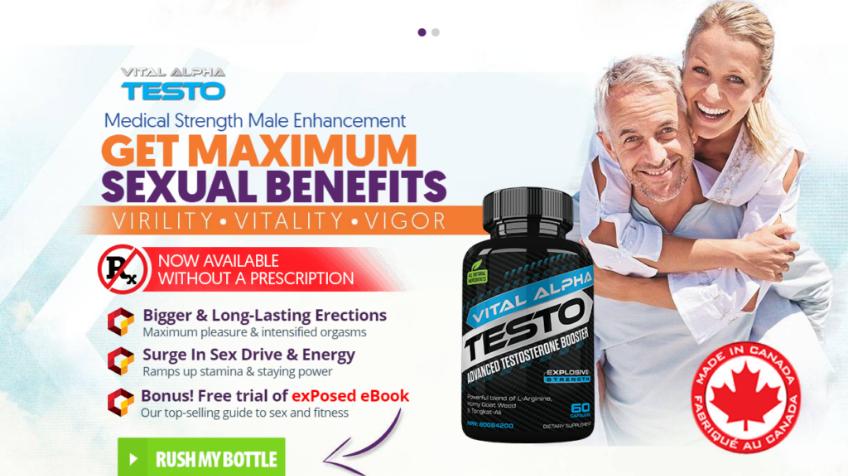 Vital Alpha Testo Ca Male Enhancement SupplementsRead Reveiws Benefits & Buy! - Hype.News: Free
