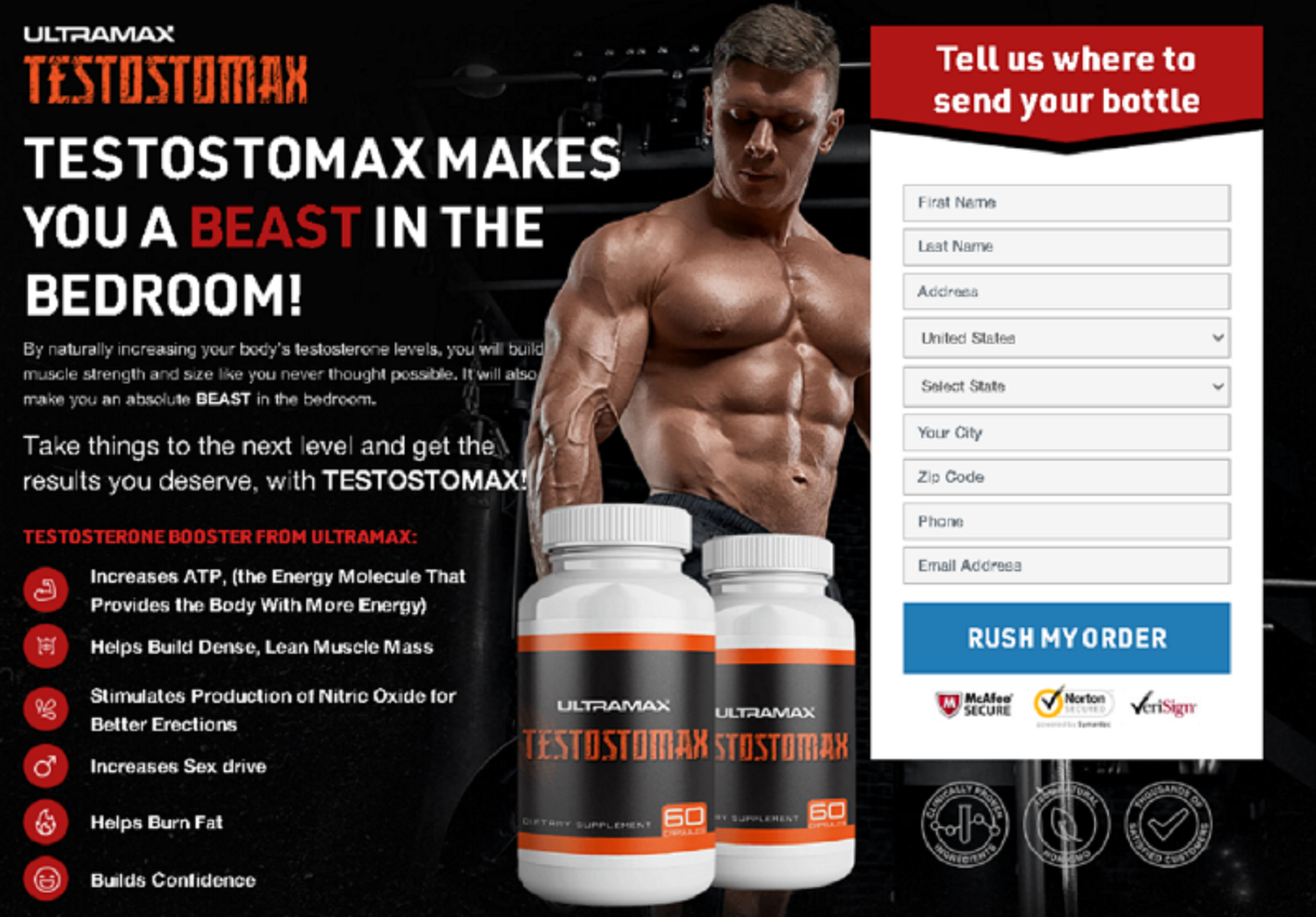 UltraMax TestoMax (Review) UltraMax TestoMax Male Enhancement is Scam Don't Buy - Hype.News: Fre